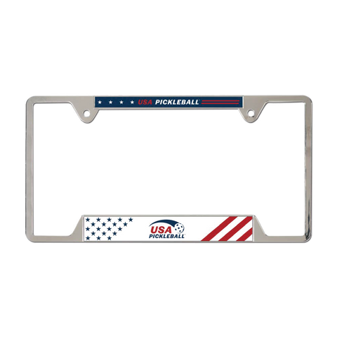 USA Pickleball License Plate Frame