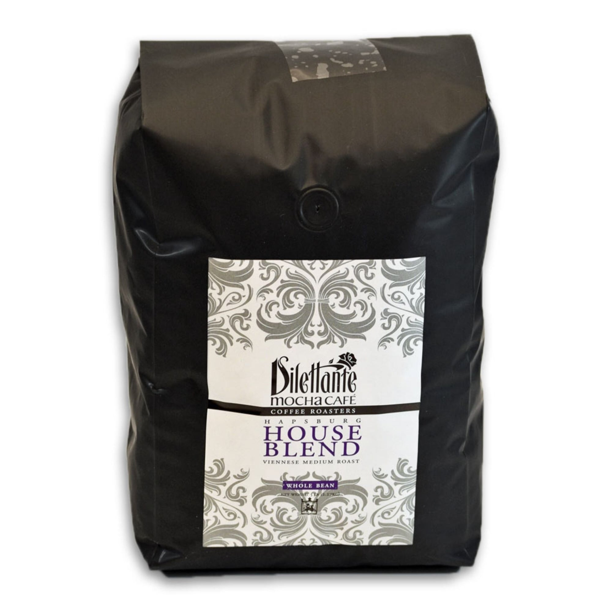 Dilettante Chocolates Mocha Cafe 5-Pound Whole Bean Blend