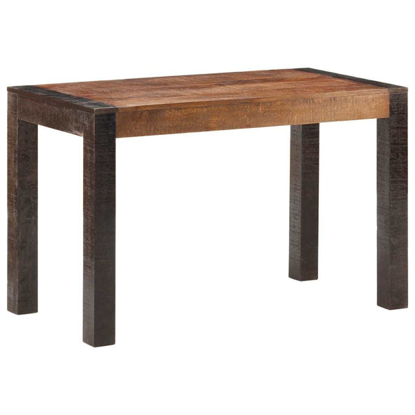 "Dining Table 47.2""x23.6""x29.9"" Solid Rough Mango Wood - Dining Tables - Dot On Top"