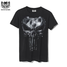 Load image into Gallery viewer, Punisher Streetwear Tshirt Men Hip Hop Funny T Shirts Mens T Shirts Fashion 2018 Boyfriend Gift Cotton Print Casual T-shirt