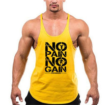 Load image into Gallery viewer, MUSCLEGUYS Branded, Super Breathable, Cotton Material Bodybuilding Vest/Tank Top.