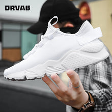 Load image into Gallery viewer, Plus Size 39-48 Fashion Sneakers High Quality All Black White Summer Woven Mesh Shoes Men Casual Shoes Tenis Masculino Trainers