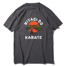 Load image into Gallery viewer, Unisex 100% Cotton Miyagi Do Jo T-Shirt -Inspired by Karate Kid Funny Shirt Martial Art Retro Cool Men's T-shirt  women soft tee