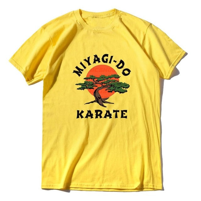 Unisex 100% Cotton Miyagi Do Jo T-Shirt -Inspired by Karate Kid Funny Shirt Martial Art Retro Cool Men's T-shirt  women soft tee