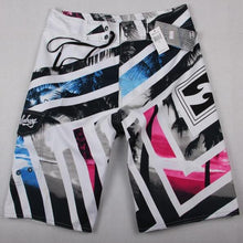 Load image into Gallery viewer, Summer Beach Shorts For Men 2021 New Boardshorts Beachwear Breathable Elastic Waist Fashion Casual Shorts Male Swimming Trunks