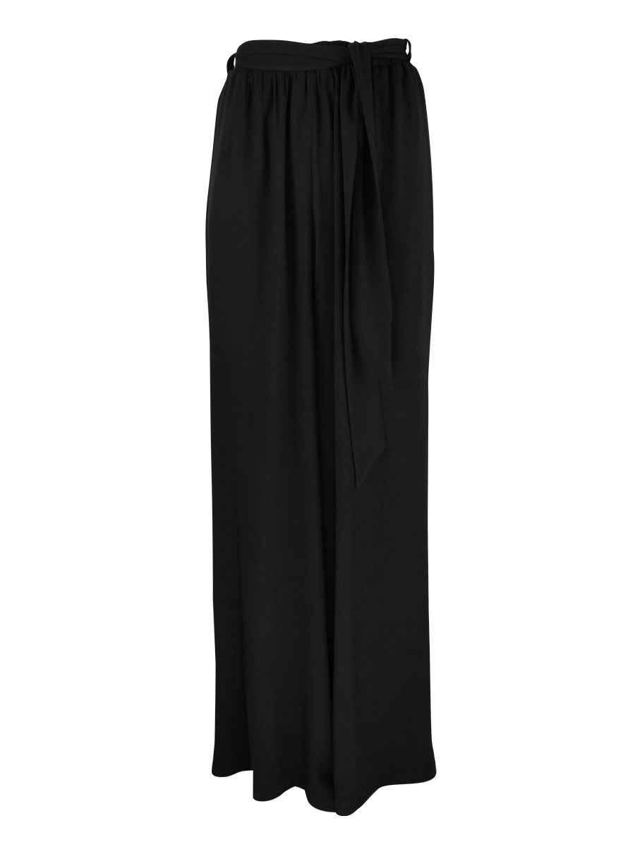 Cannes Palazzo Pants, Black