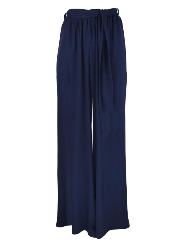 Cannes Palazzo Pants, Navy