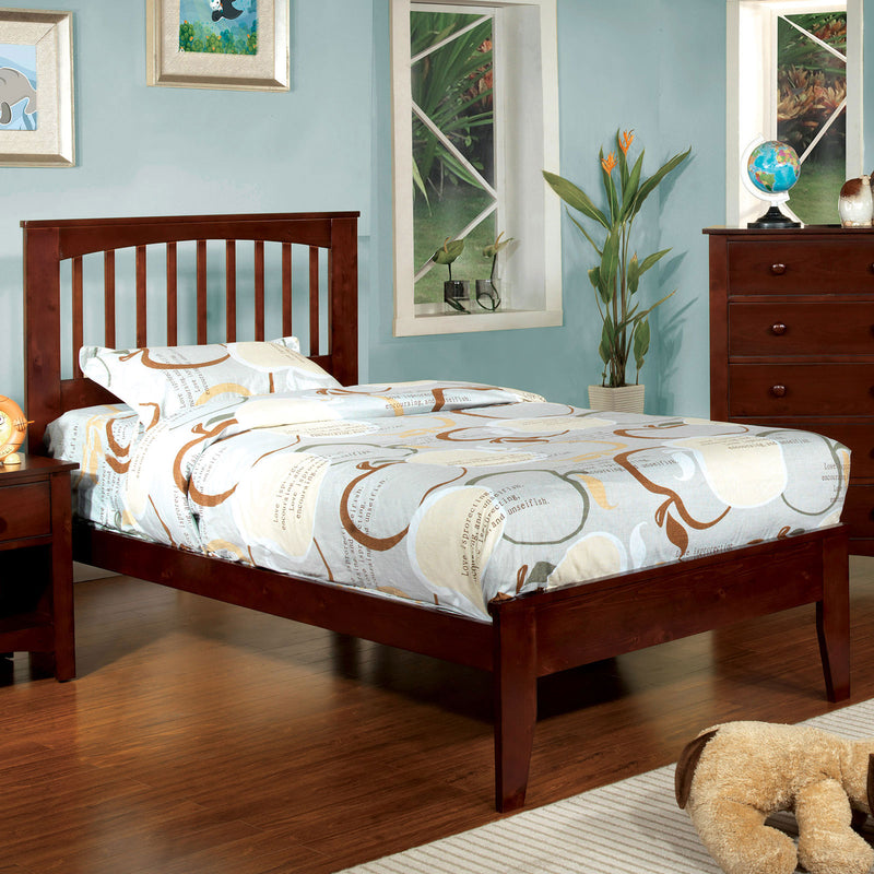 Pine Brook Cherry Twin Bed image