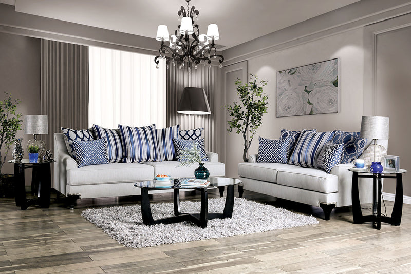 Sisseton Light Gray Sofa + Love Seat image