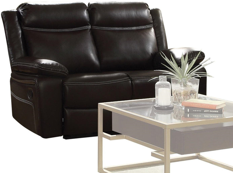 Acme Furniture Corra Motion Loveseat in Espresso 52051 image