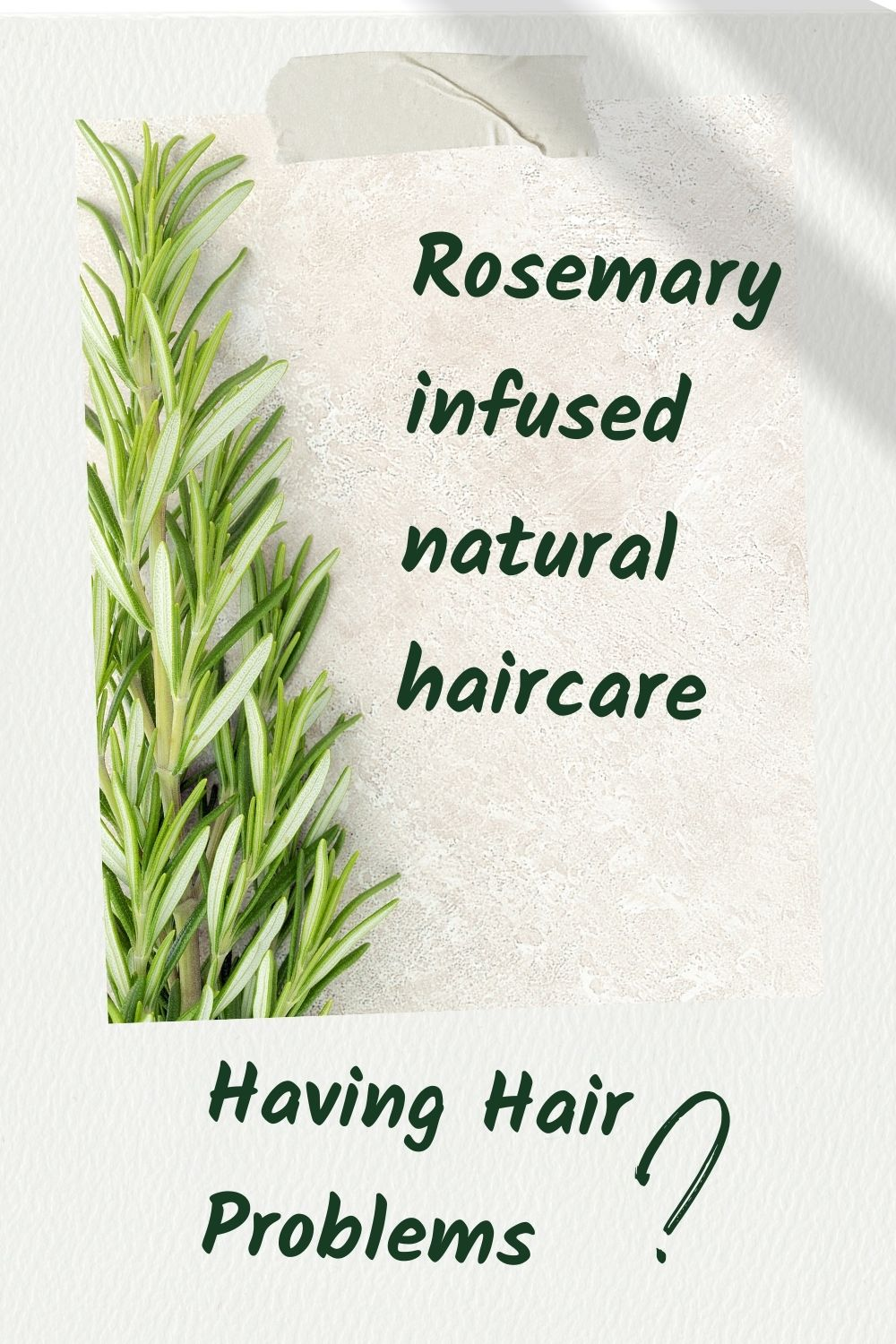 Rosemary Can Revivify Your Hair
