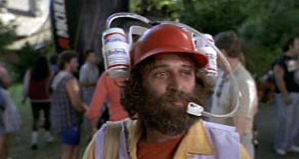 Happy Gilmore Beer Hat