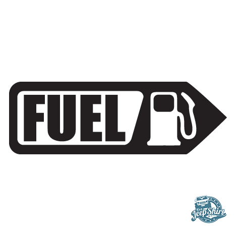 Jeep Fuel Decal