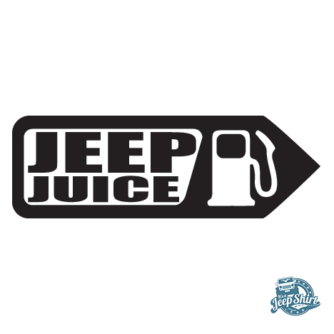 Jeep Juice Decal on wrangler sa