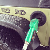 Jeep Juice Decal on Jeep