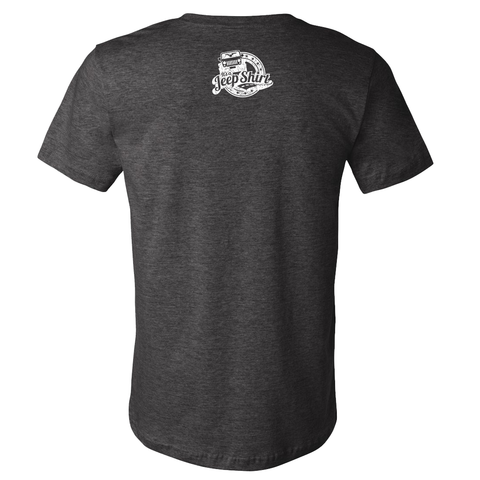 Off Road Evolution Cherokee XJ Jeep Shirt - Men's Heather Gray