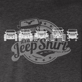 Off-Road Evolution Wrangler JK Men's Heather Gray Design