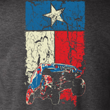 State of Texas Flag Jeep Wrangler JK Design