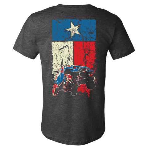 Texas Flag Wrangler JK Jeep T Shirt