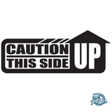Jeep Caution This Side Up Decal