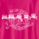 Evolution of Trail TJ's Pink Design