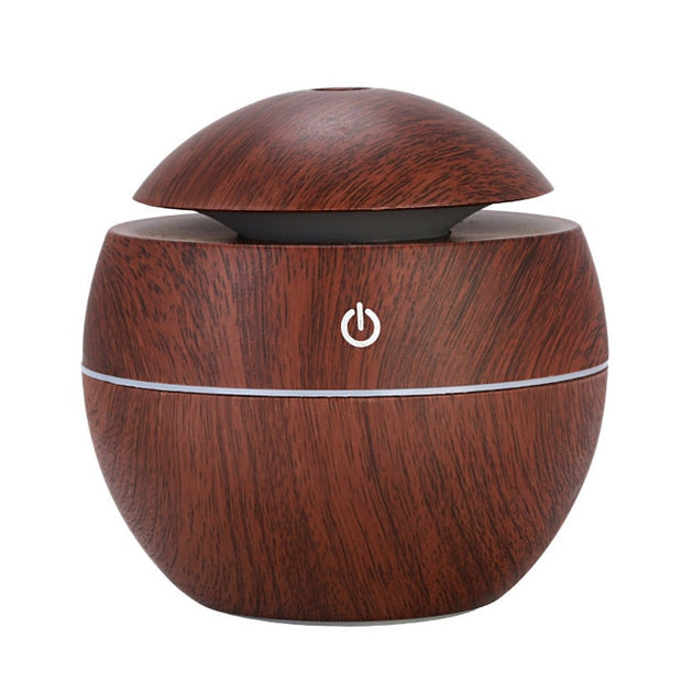 130ML USB Aroma Diffuser Humidifier LED - Best Creative Designs