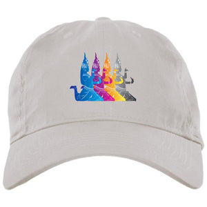 Open image in slideshow, khmer Apsara Dance BX001 Brushed Twill Unstructured Dad Cap