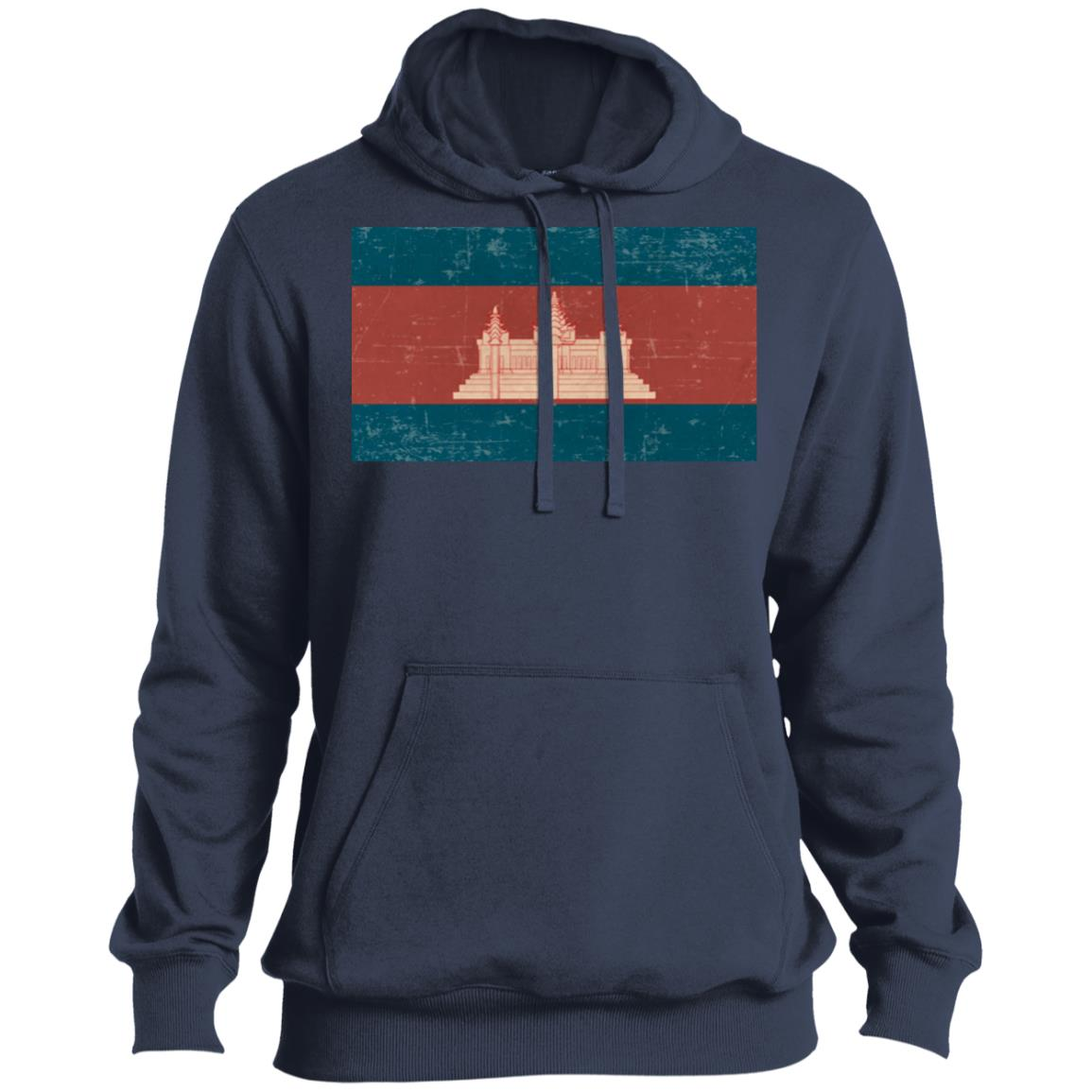 Cambodia flag ST254 Pullover Hoodie