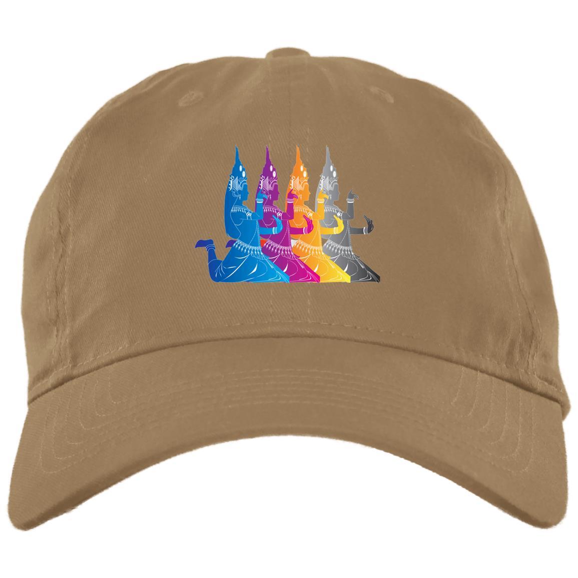 khmer Apsara Dance BX001 Brushed Twill Unstructured Dad Cap
