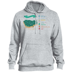 Open image in slideshow, Cambodia map Pullover Hoodie