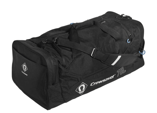 Crewsaver Wet & Dry Holdall Bag Black 75L - Boardworx