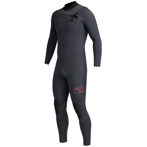 Xcel Infiniti Comp TDC Chest Zip Winter Wetsuit Black LS - Boardworx