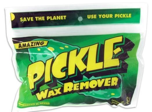Pickle surf wax remover surfboard cleaner