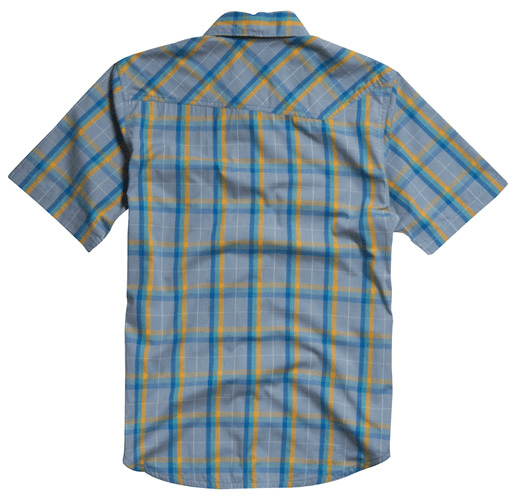 Fox Kid A Shirt Short Sleeve Light Slate