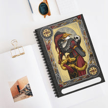 Load image into Gallery viewer, Mysteria Joker<br>Spiral Notebook - Lined