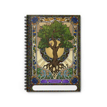 Load image into Gallery viewer, Summer Tree of Life<br>Spiral Notebook - Lined