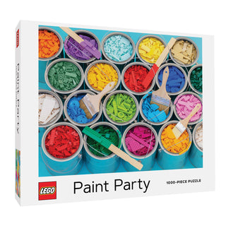 Lego Paint Party