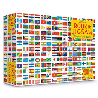 Flags of the World Jigsaw Puzzle and Book