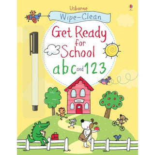 Get Ready for School Wipe Clean