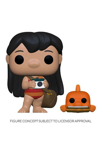 POP Lilo avec son poisson Pudge