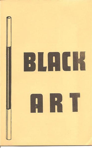 Black Art Booklet by Ireland