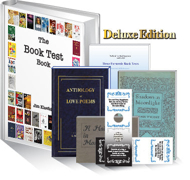 The Book Test Book-Deluxe Edition by Jim Kleefeld