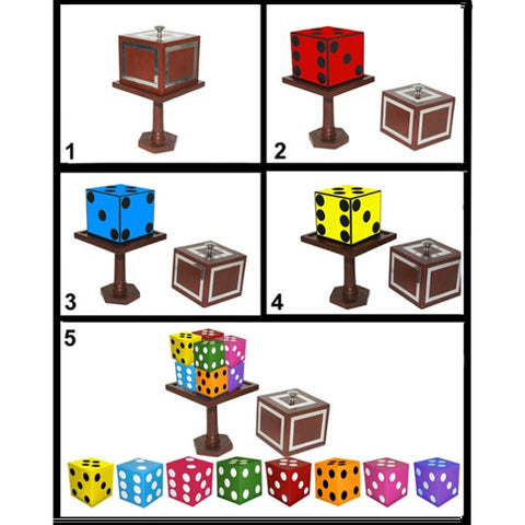 Color Changing Die to Split Dice
