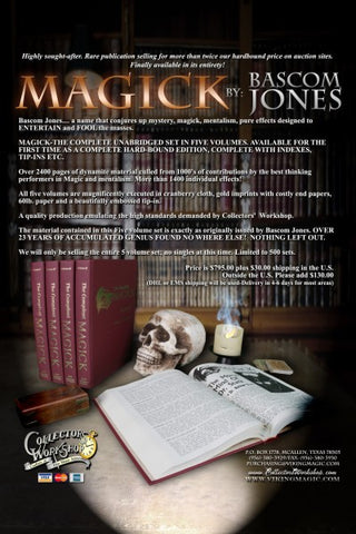 MAGICK-Bascom Jones