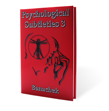 Psychological Subtleties Vol. 3 Banachek