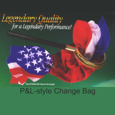 Change Bag with zipper-P&L style