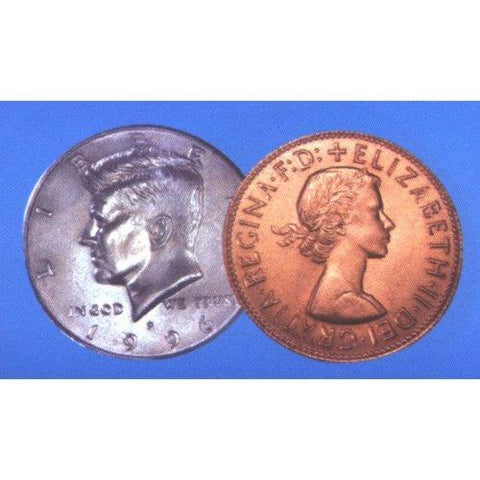 Copper Silver Coin Routine