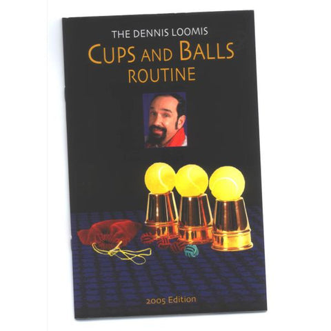 Cups and Balls Booklet-Loomis