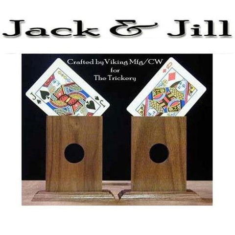 Jack and Jill Card Transpo, Poker sized