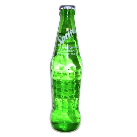Exploding Glass Coke Bottle Sprite